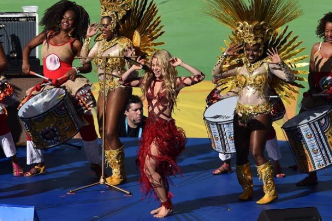 Shakira @ Closing Ceremony