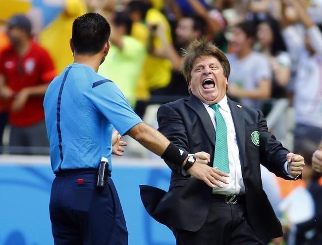 Mexico coach Miguel Herrera