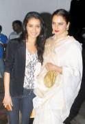 Shraddha Kapoor and Rekha