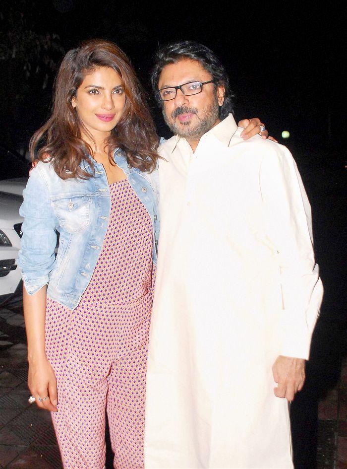 Priyanka Chopra and Sanjay Leela Bhansali