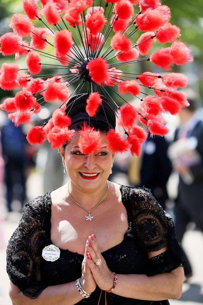 Interesting Hats at Royal Ascot Race 2014