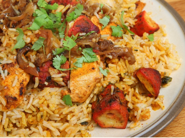 Healthy Chicken Biriyani