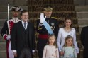 Felipe VI, Letizia, Sofia, Leonor, Sofia, Mariano Rajoy