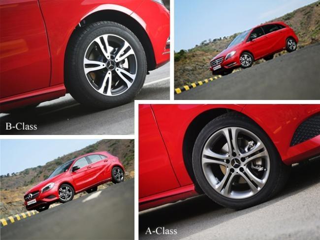 Mercedes-Benz A-Class and B-Class