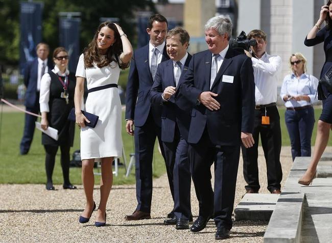 Duchess of Cambridge, Ben Ainslie, Sir Charles Dunstone, Sir Keith Mills