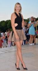 French Open champion Maria Sharapova
