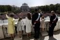 King Felipe VI, Queen Letizia, Princess Leonor, Princess Sofia, King Juan Carlos, Queen Sofia