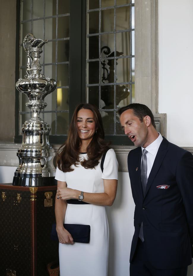 Duchess of Cambridge, Sir Ben Ainslie