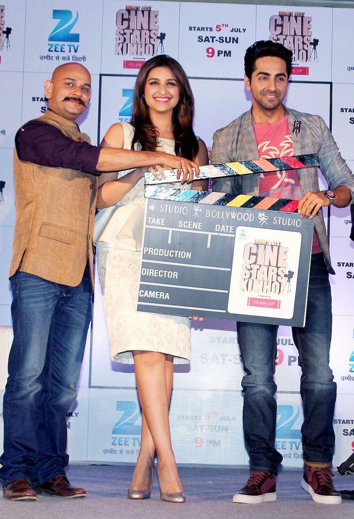 Parineeti Chopra, Vijay Acharya, Ayushmann Khurrana