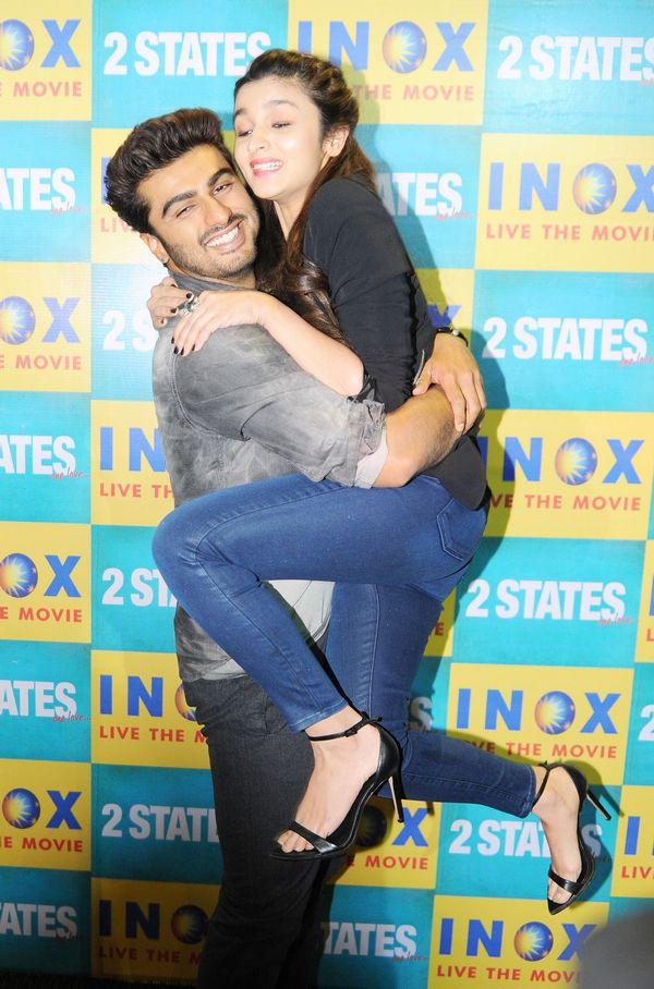 Arjun Kapoor and Alia Bhatt