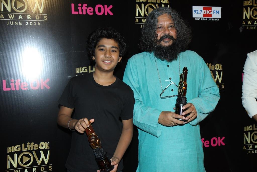 Amol Gupte and Partho Gupte at Big Life OK Now Awards
