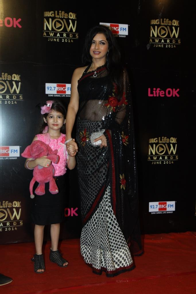 Bhagyashree at Big Life OK Now Awards