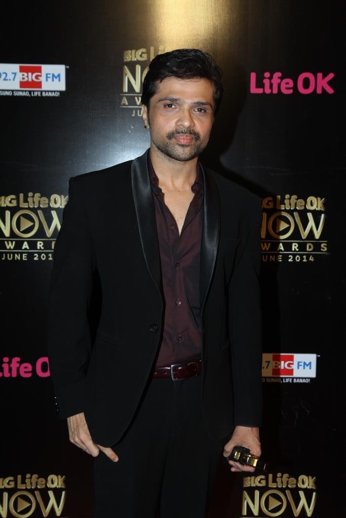 Himesh Reshammiya at Big Life OK Now Awards