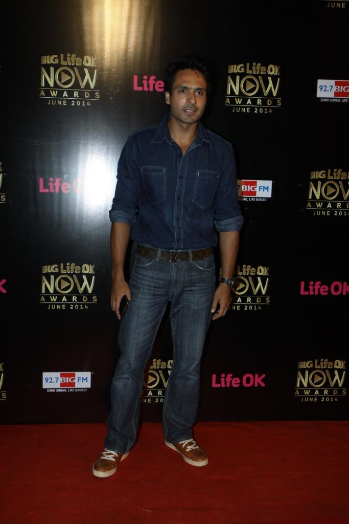 Iqbal Khan at Big Life OK Now Awards