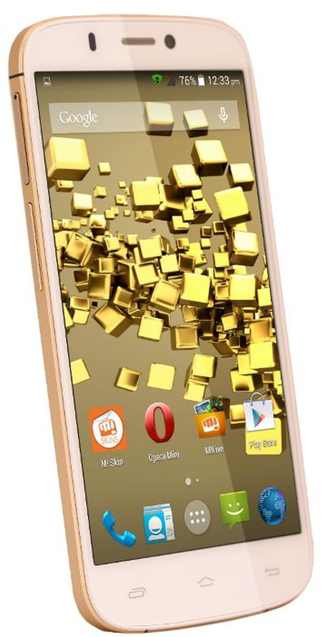Micromax Canvas Gold