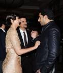 Sonam Kapoor, Abhishek Bachchan and Anil Kapoor