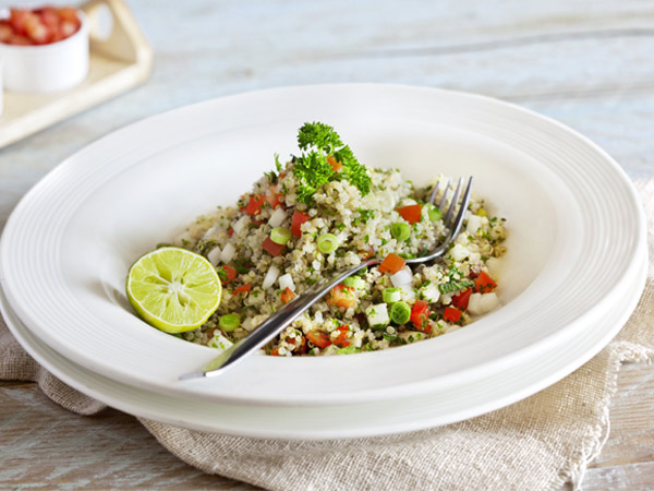 Taboulleh of Quinoa Date