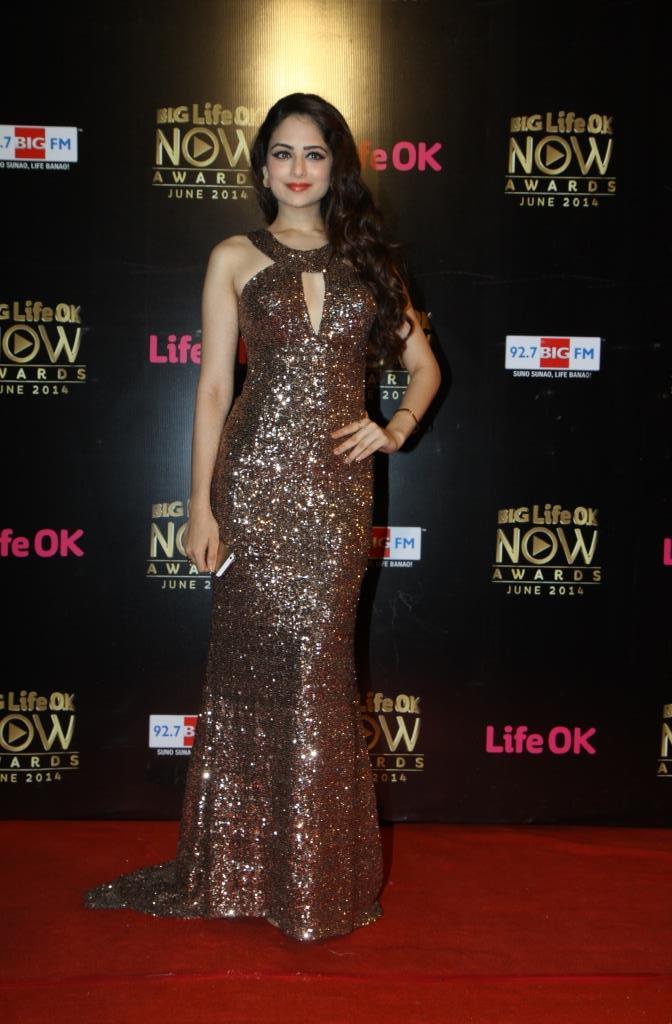 Zoya Afroz at Big Life OK Now Awards