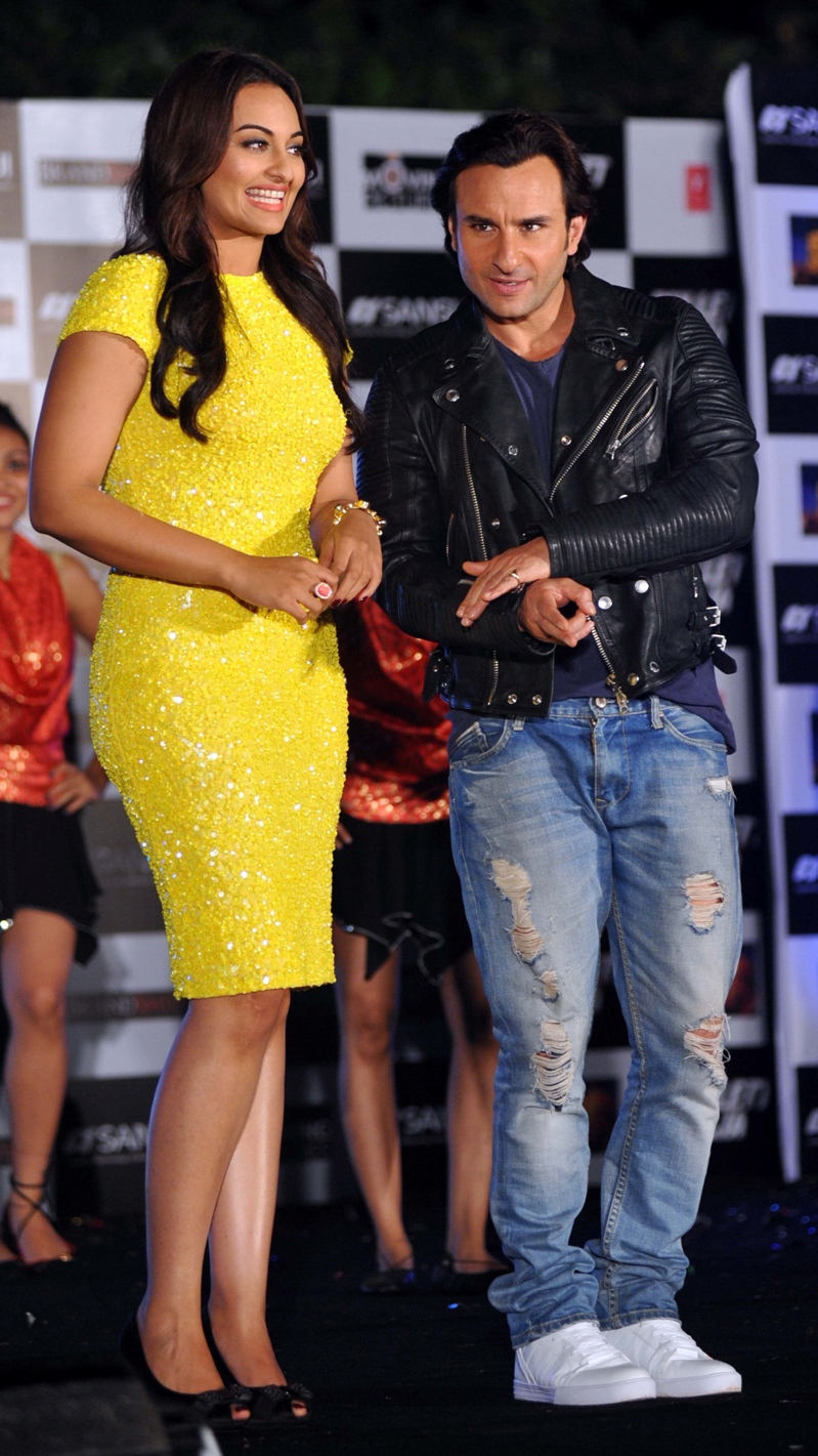 Saif Ali Khan and Sonakshi Sinha