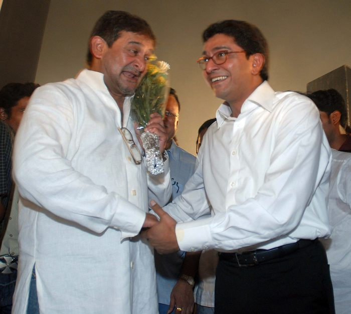 Mahesh Manjrekar and Raj Thackeray