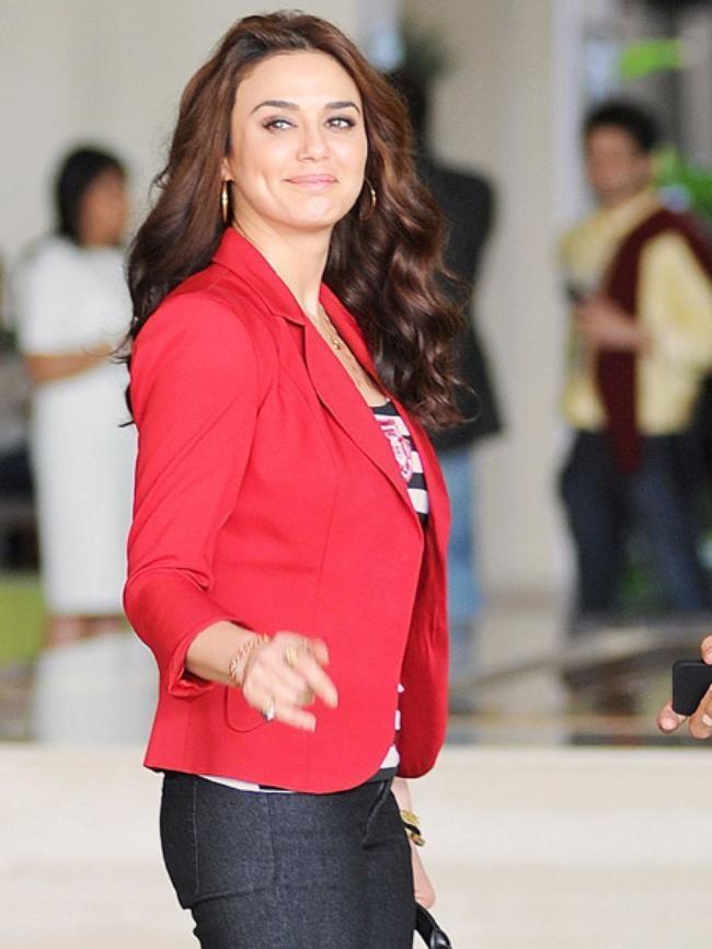 Preity Zinta, co-owner of Kings XI Punjab
