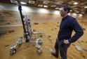 Prototype Mars Rover Vehicles