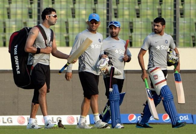 Yuvraj Singh Worried About the Bottom of His Bat