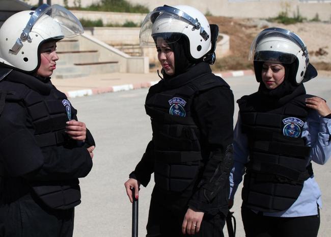 Palestinian Female Anti-Riot Unit