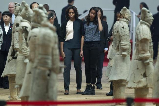 Michelle Obama in China