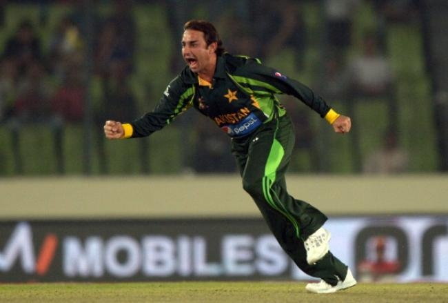 Saeed Ajmal picked up two wickets off two balls
