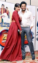 Riteish Deshmukh and Genelia D
