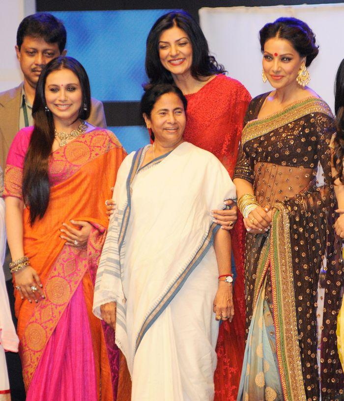 Mamata Banerjee, Rani, Sushmita Sen and Bipasha Basu