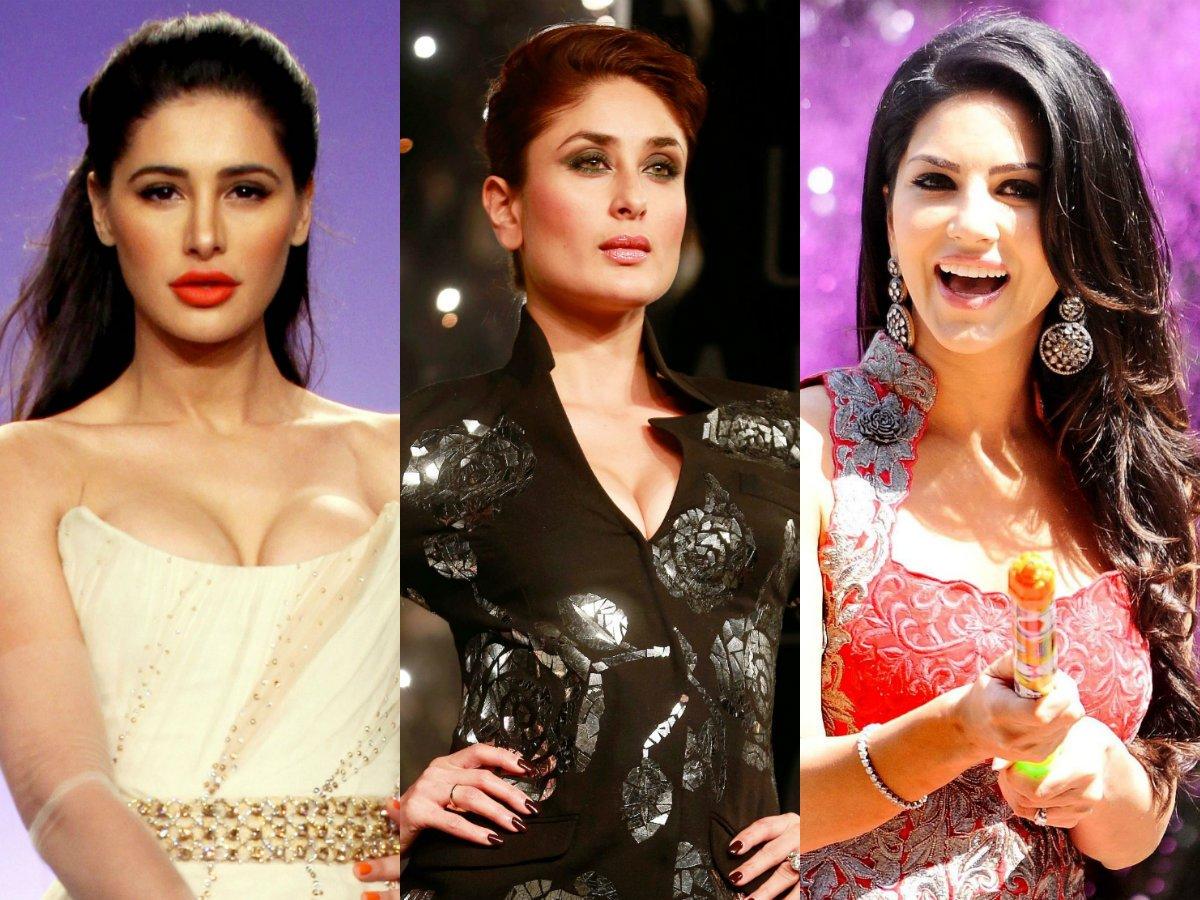 Nargis Fakhri, Kareena Kapoor, Sunny Leone