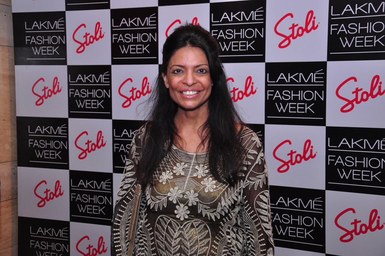 Leena Mogre at the Stoli Lounge at Lakme Fashion Week