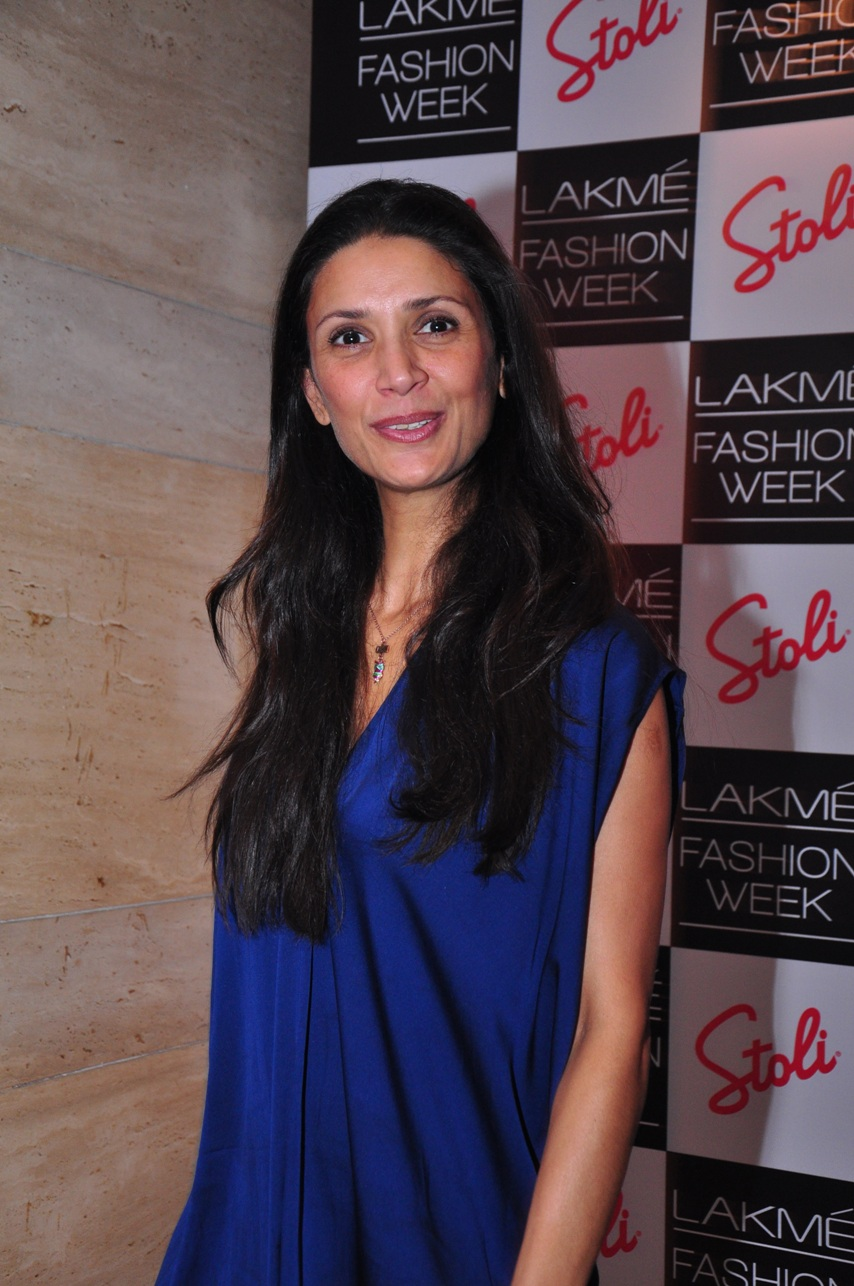 Mehr Jesia at the Stoli Lounge at Lakme Fashion Week