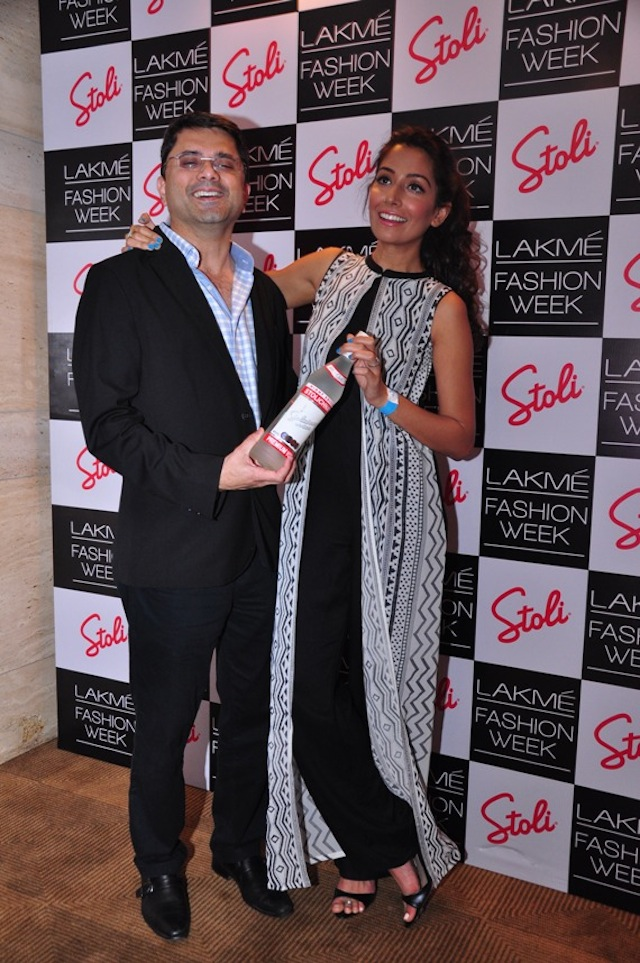 Jackie Matai, Monica Dogra at the LFW Pre Show Cocktails