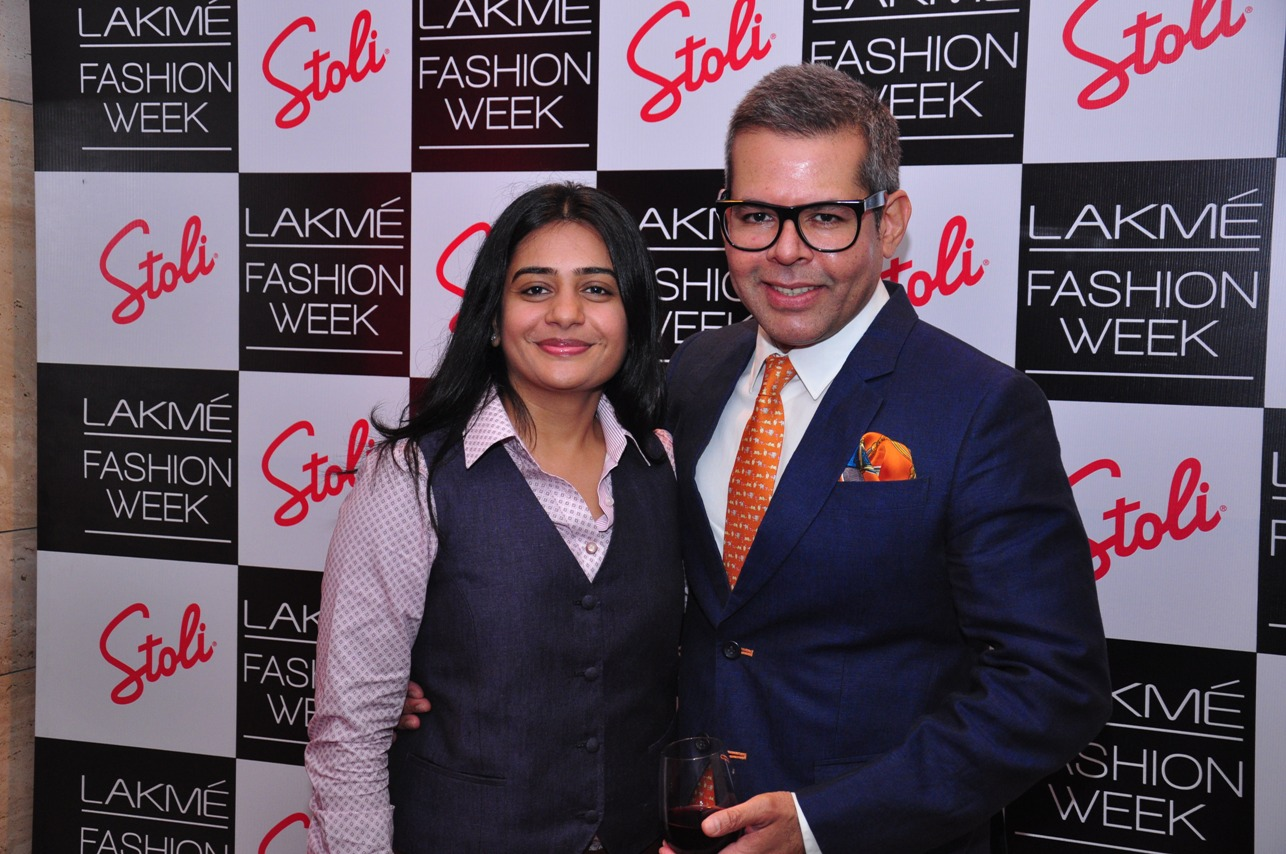 Vikram Raizada at the Stoli Lounge at Lakme Fashion Week