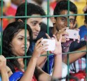 Fans Busy Clicking Pictures