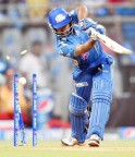 Rayudu was bowled for 9