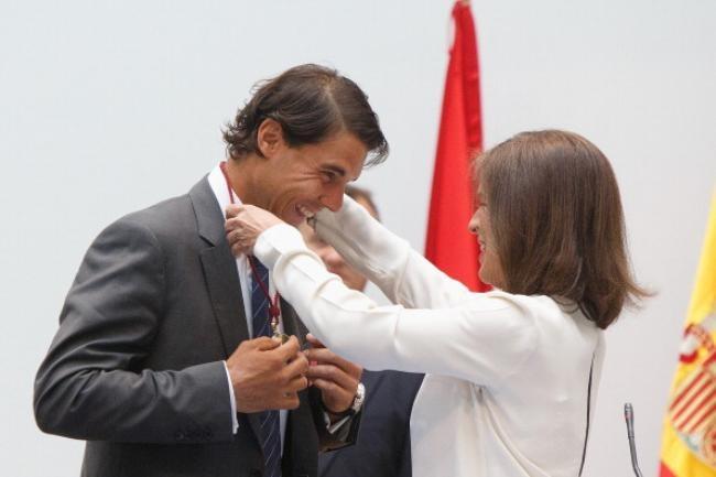 Rafa Nadal Named Honorary Citizen of Madrid