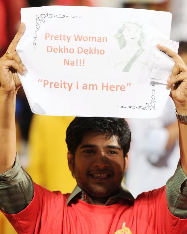 An ardent Preity Zinta Fan