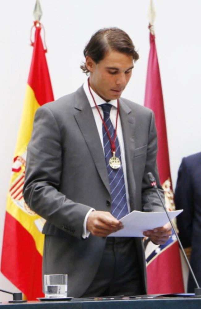Rafa Nadal Named Honorary Citizen of Madrid