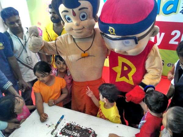 Chhota Bheem and Mighty Raju have fan following in the age group of 4 – 10 years.