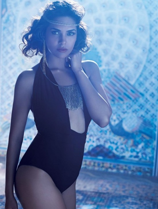Esha Gupta swimsuit photoshoot