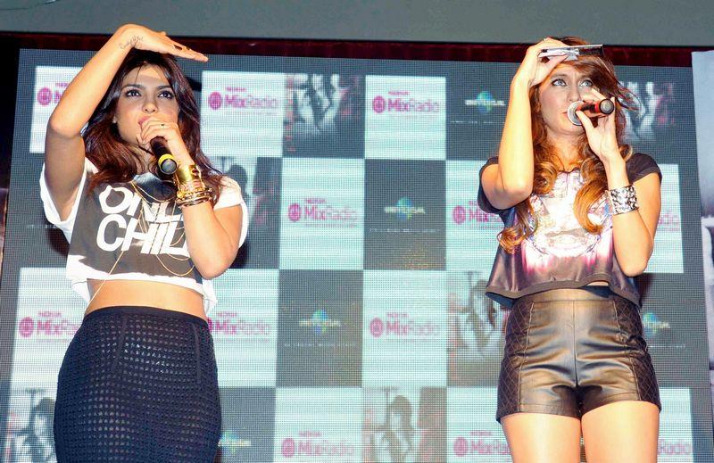 Priyanka Chopra and Anusha Dandekar