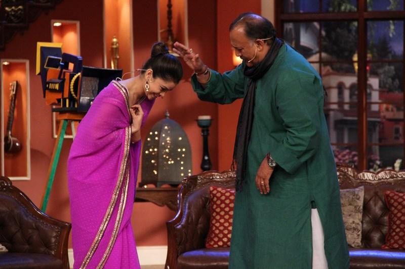 Alok Nath and Mrs Bittu Sharma
