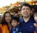 Madhuri Dixit-Nene with husband and children