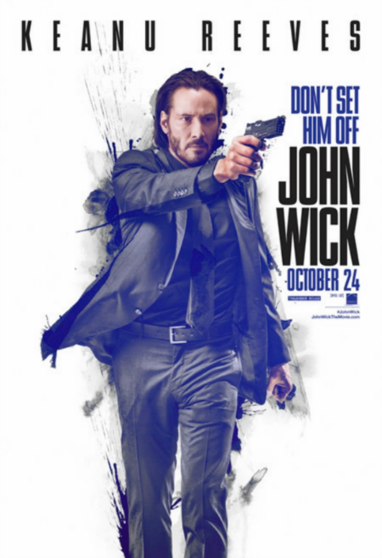 These Amazing Posters Of Keanu Reeves John Wick Will Blow Your